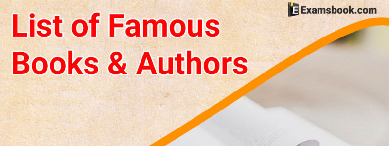 famous books and authors
