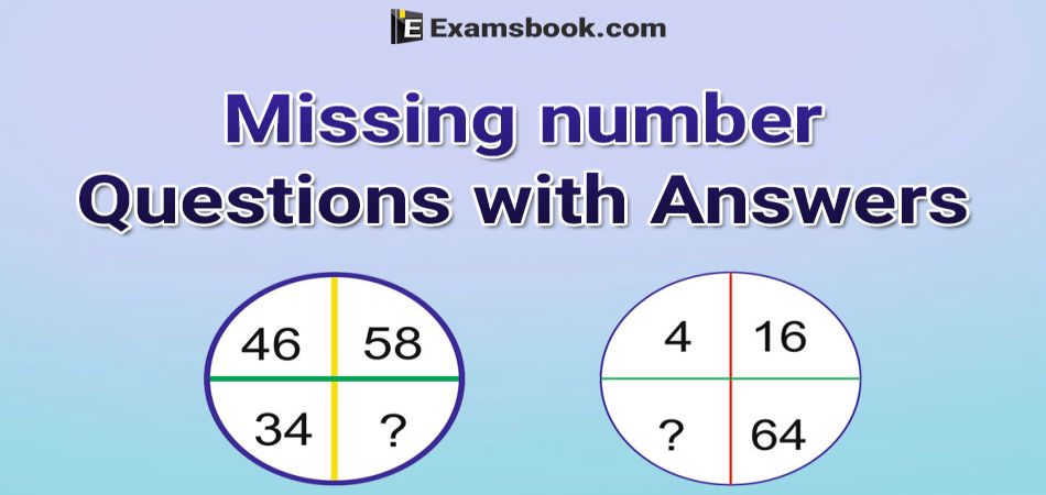 missing questions problems with answers