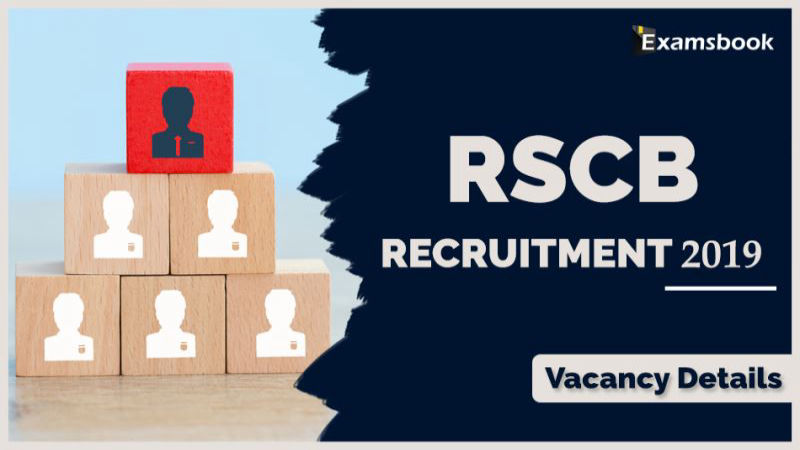 RSCB recruitment 2019