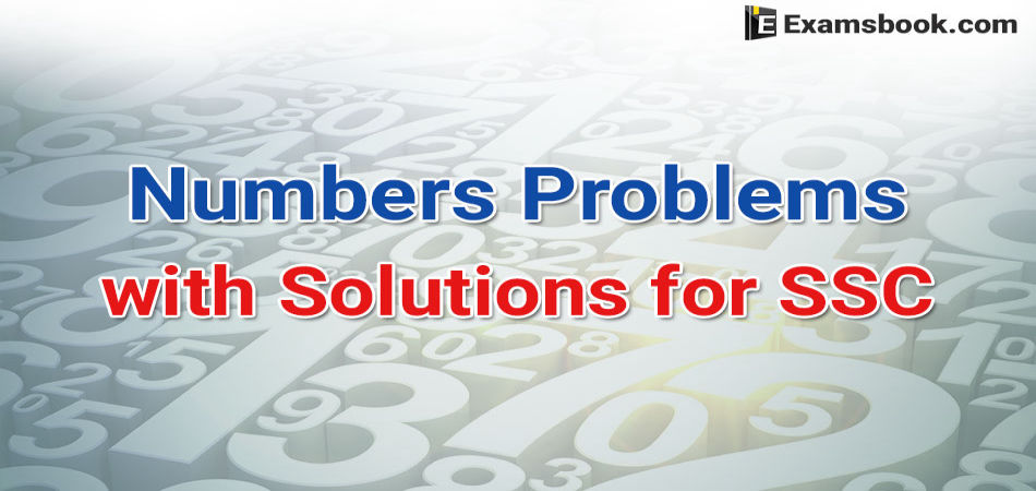 number-problems-with-solutions