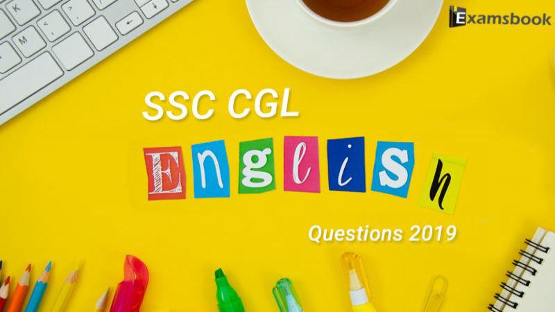 SSC-CGL-English-Questions-2019