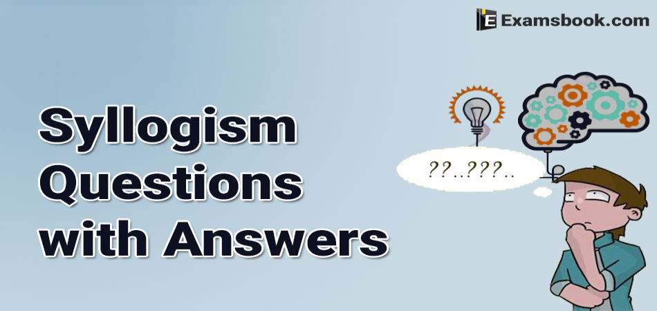 syllogism questions with answers