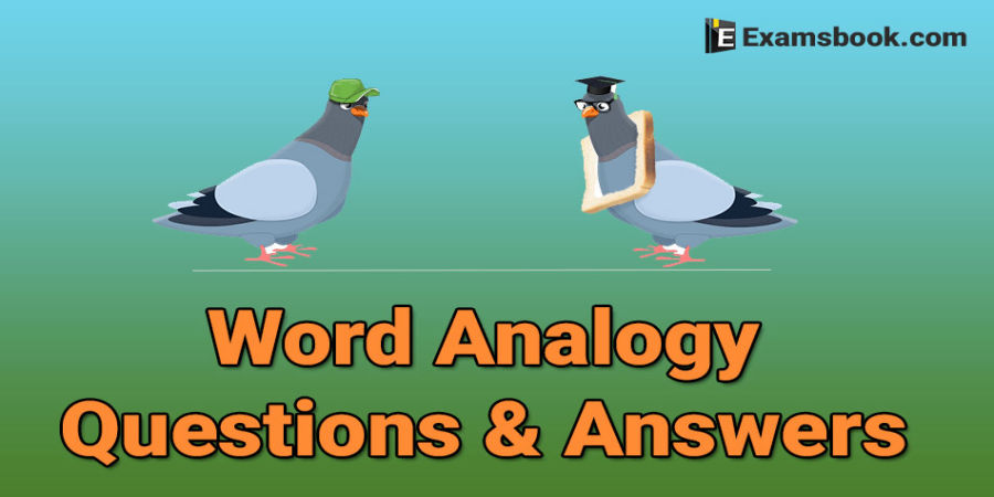 Word Analogy Questions