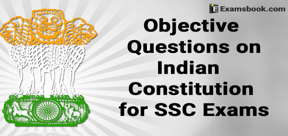 Indian Constitution Questions
