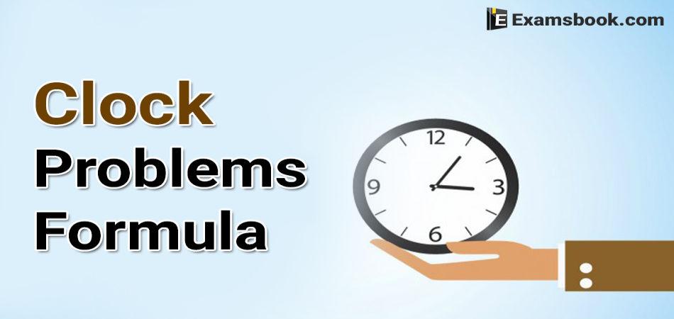 clock problems formula
