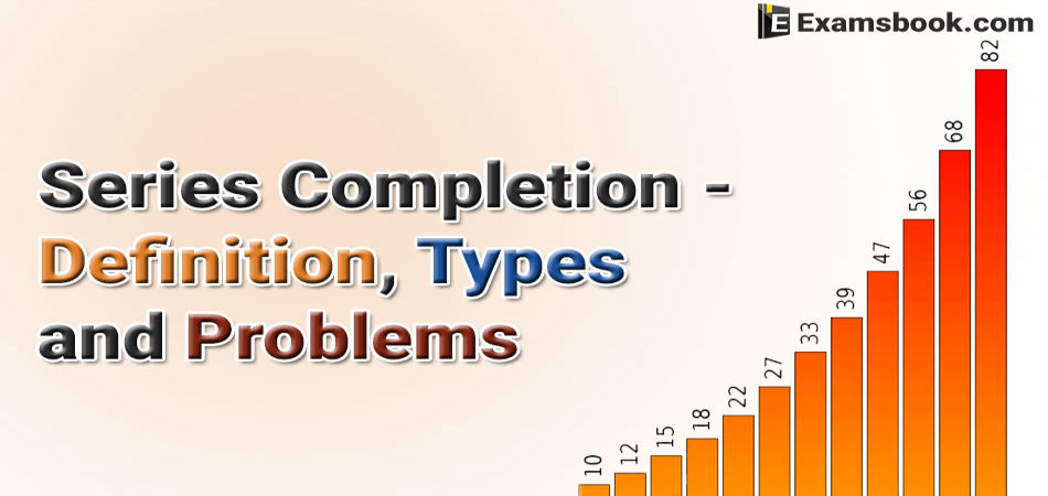 series completion definition types and problems