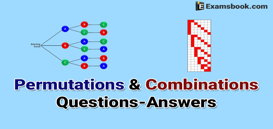 permutations and combinations questions