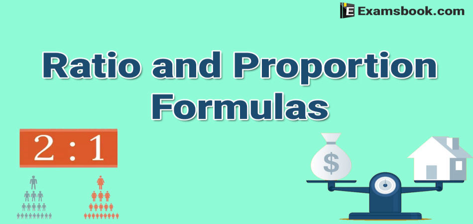 ratio and proportion formulas