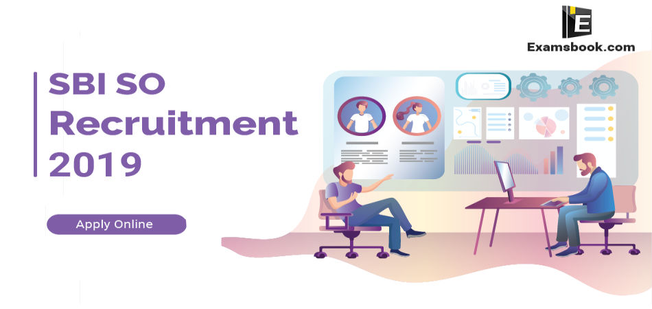 SBI SO recruitment 2019