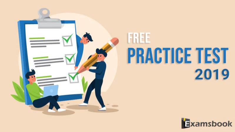 free practice test 2019