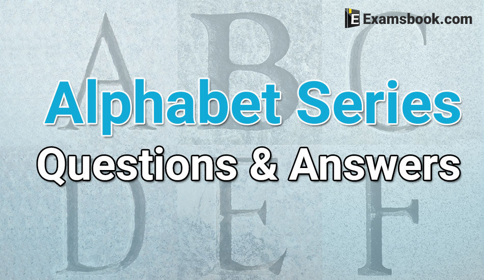 Alphabet Series Questions