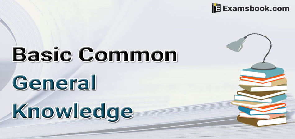 Basic-Common-General-Knowledge