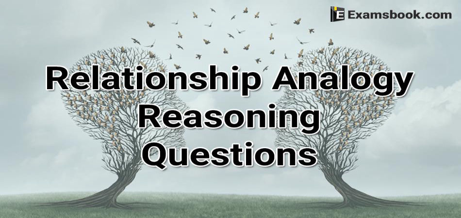 Relationship Analogy Reasoning Questions
