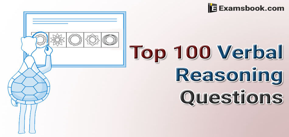 top 100 verbal reasoning questions and answers