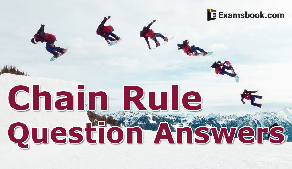 how to solve chain rule problems