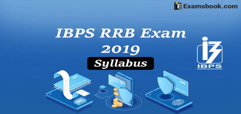 ibps rrb exam syllabus 2019