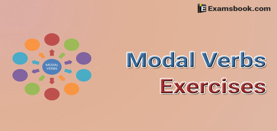 Modal Verbs Exercises with Answers for SSC CGL