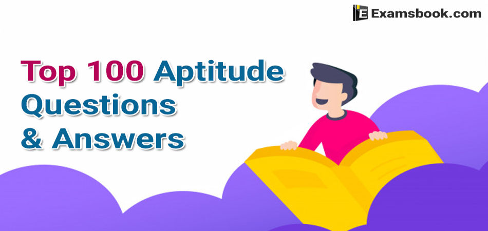 top 100 aptitude questions and answers