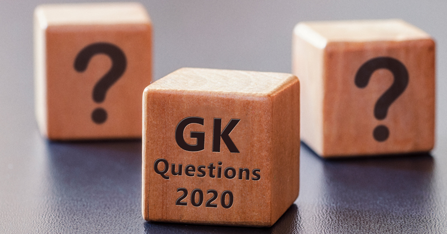 New GK Question 2020
