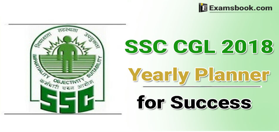 Study plan for SSC CGL