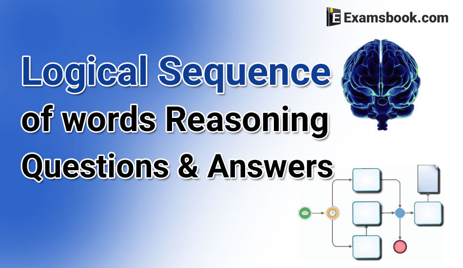 Logical Sequence Of Words Questions And Answers
