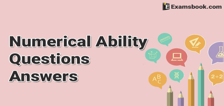 numerical ability questions and answers