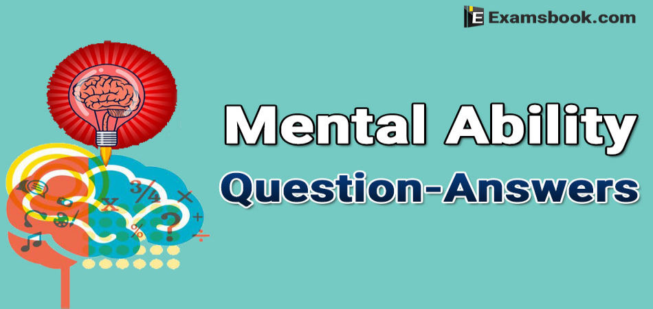 mental ability questions