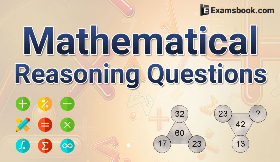 Mathematical Reasoning Questions With Answers For