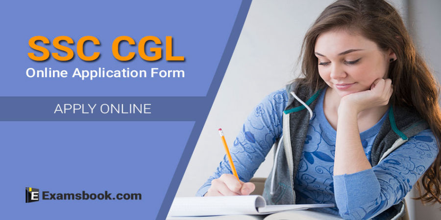 SSC CGL application form