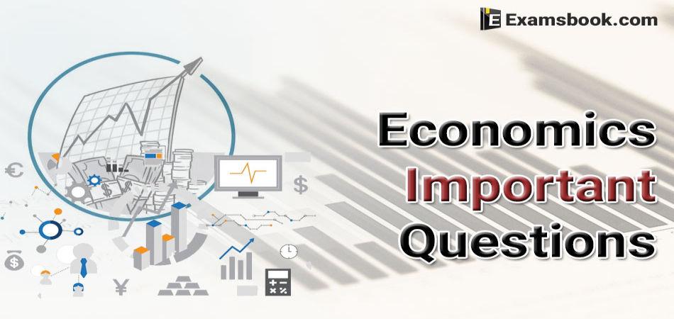 Economics-Important-Questions