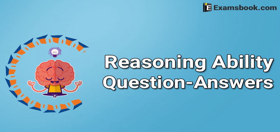 reasoning ability questions and answers