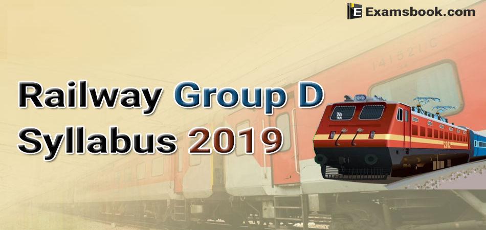 railway group d syllabus 2019