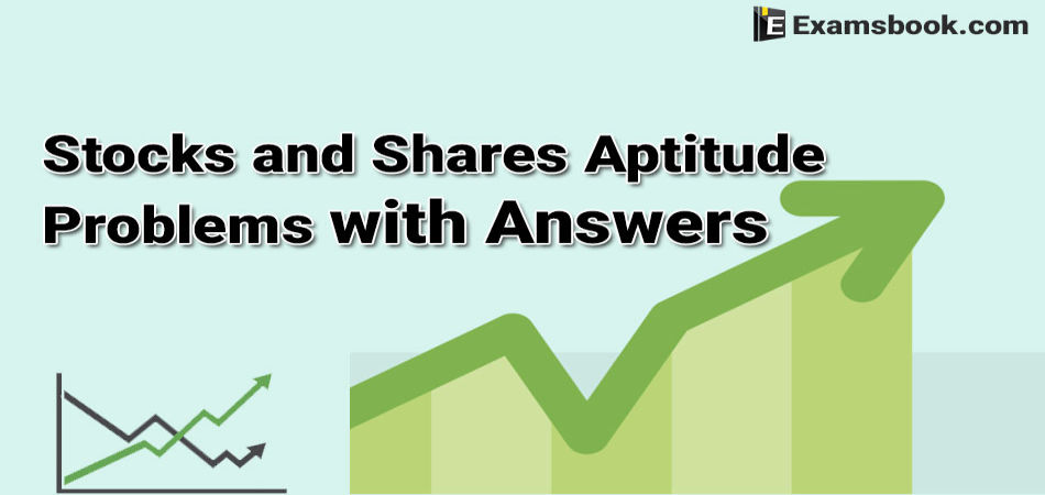 stocks and shares aptitude problems