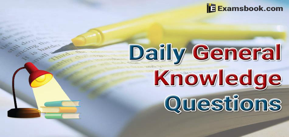 Daily-General-Knowledge-Questions
