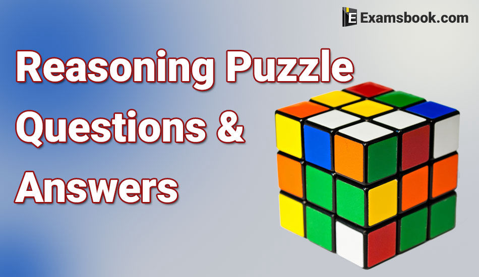 Reasoning Puzzle questions