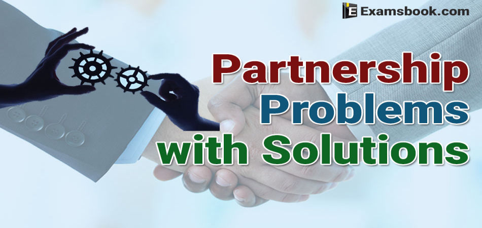 partnership problems with solutions