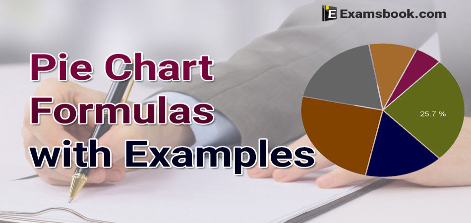 pie chart formula and examples