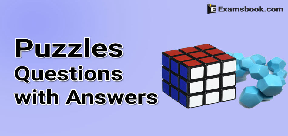 puzzles questions with answers