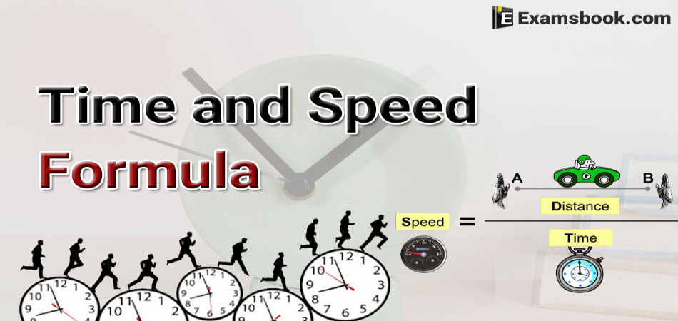 time and speed formula
