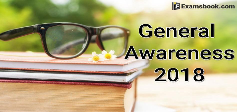 General Awareness 2018