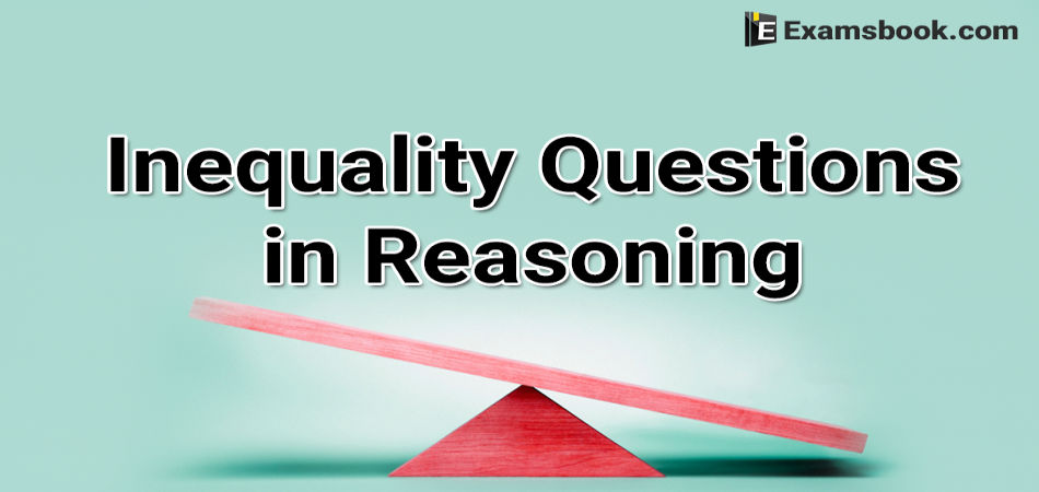 inequality questions in reasoning