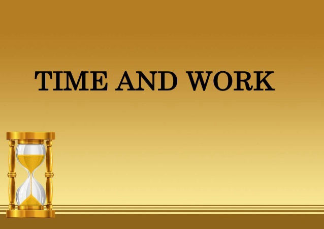 time and work aptitude questions
