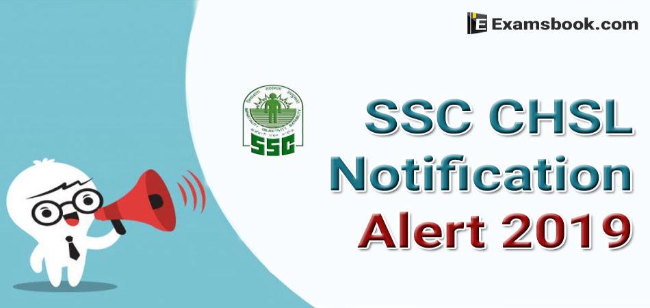 ssc chsl 2019 notification