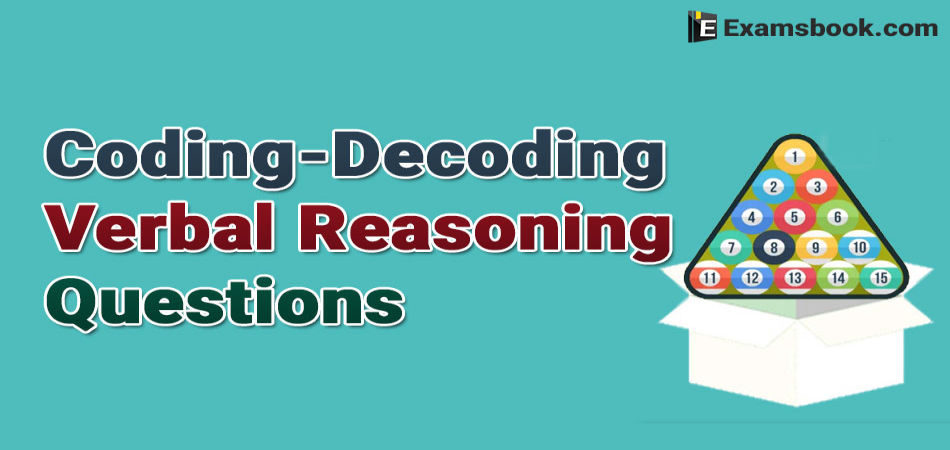 coding-decoding-verbal-reasoning-questions