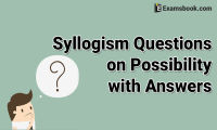 syllogism questions on possibility