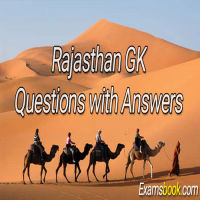 Rajasthan GK Questions with Answers