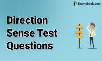 direction sense test questions