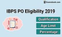 IBPS PO 2019 Eligibility