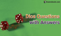dice questions with answers