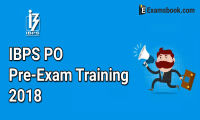 IBPS PO Pre-Exam Training 2018